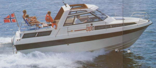 Fjord 880 AC hardtop